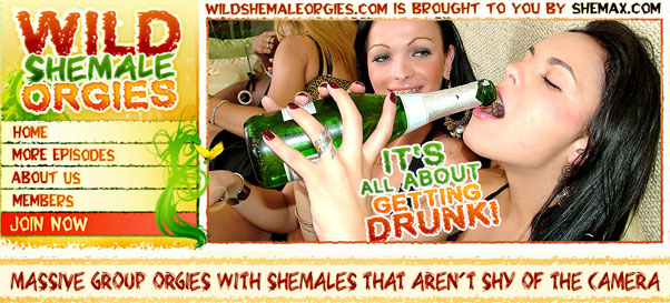 Take a FREE tour of Wild Shemale Orgies!